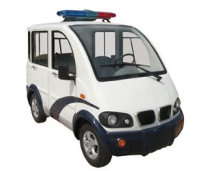 CitEcar Electro Bubble Buddy LSV 4 Passenger Municipal Police Hard Door