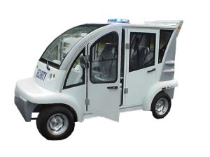 CitEcar Electro Bubble Buddy LSV 4 Passenger Security Hard Door