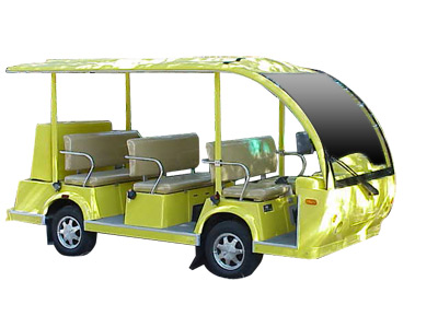 CitEcar Electro Bubble Buddy LSV 6 Passenger Deluxe Vehicle