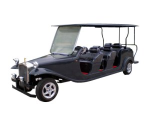 CitEcar Electro Bubble Buddy LSV 8 Passenger Roadster